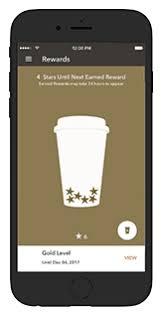 starbucks for mobile application