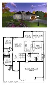 Best Floor Plans Country Style House Plan 3 Beds 2 Baths 1800 Sqft 456 1 1550 Sq Ft
