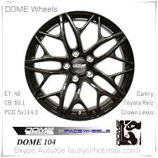 lexus gs pcd semi forged replica alloy wheels dome 104 replica wheels for sale