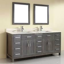 Bathroom Vanities Oak Top 85 Ideas Gray Bathroom Vanity Grey Oak Modern Lights Rustic