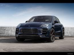 Porsche Macan Blue - pictures of car and videos 2014 topcar porsche macan dark blue