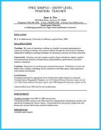 Baseball Resume Template Criminal Justice Resume Objective Examples Example Resumes