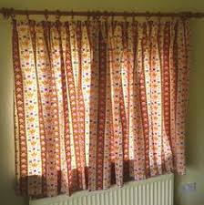 Lined Cotton Curtains Details About Pair Vintage Laura Ashley Lined Cotton Cottage