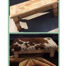 Lind Ottoman Home Decor Interesting Cowhide Ottomans Trend Ideen Cowhide