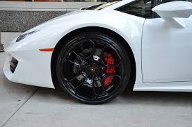 Lamborghini Huracan White Black Rims - 2017 lamborghini huracan lp 580 2 stock l317 for sale near