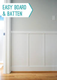 How Much Does Wainscoting Cost To Install Our 57 Board And Batten Tutorial It U0027s Surprisingly Easy
