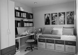 monochrome home decor bedroom design teen boys room black and white home decor teenage
