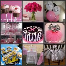 baby s birthday ideas zebra print birthday favors party birthdayexpress
