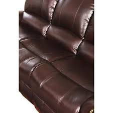Top Grain Leather Reclining Sofa Abbyson Living Abbyson Broadway Top Grain Leather Reclining Sofa