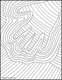 op art coloring pages pop art interactive coloring sheet freebie for spring summer