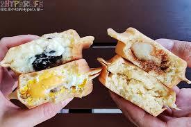 cuisine de a炳 q弟紅豆餅美村南店 台中銅板美食小吃 極具創意的紅豆餅口味讓人拋開