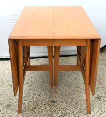 drop leaf dining room tables and chairs table w 4 hideaway folding