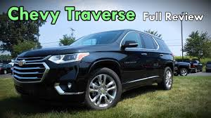chevrolet traverse ls 2018 chevrolet traverse full review high country premier rs