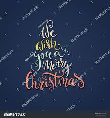 we wish you merry quote stock vector 331839719
