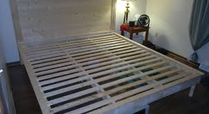 Bed Frames How To Make by Bed Amazing How To Make A Twin Bed Frame We Make A Seriously