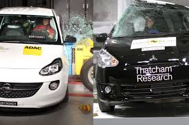 crash test siege auto 2013 crash tests opel adam et mitsubishi space