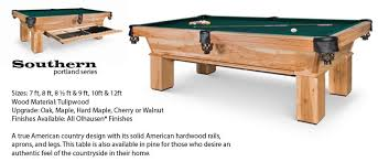 Pool Table Olhausen by Olhausen Portland Series Pool Tables