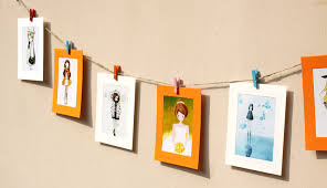 Photo Hanger Clips | photo hanging clips designs and materials homesfeed
