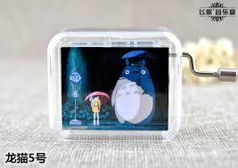 Music Box Keychain Aliexpress Com Buy Hayao Miyazaki Totoro Music Box Music Box