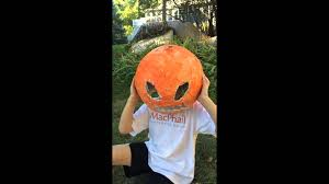 plaster pumpkinhead halloween mask youtube