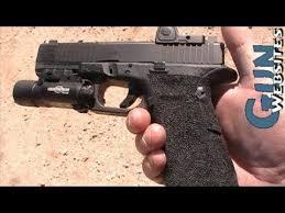 surefire light for glock 23 modified 9mm glock 19 w trijicon rmr surefire glock pinterest