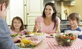 get your family to help keep your healthy diet on track smart tips