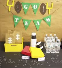 Football Penalty Flags Get Game Day Ready Football Party Ideas