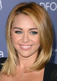 whats the name of the haircut miley cyrus usto have miley cyrus hairstyles medium straight haircut pretty designs