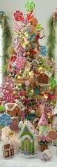 the whimsical fantasy christmas tree filled with bright colors