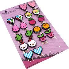 clip on earrings for kids clip on earrings gift set pack of 10 pairs for