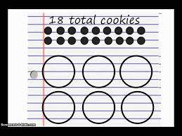 cookie division making equal groups youtube