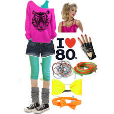 80s day at polyvore 80