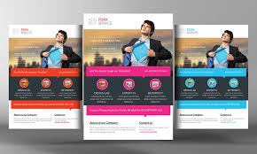 modern corporate flyer template psd file free downl on free