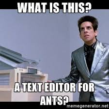 Meme Picture Editor - confessions of a text editor floozie frontend weekly medium