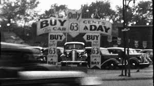 old cars black and white woman drives old car auto antique backs up 1940s vintage film home