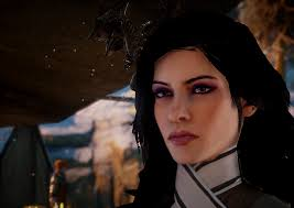 dragon age inqusition black hair yennefer of vengerberg dai sliders at dragon age inquisition