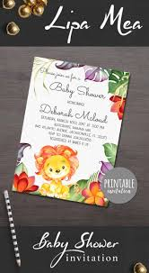 jungle baby shower invite 2637 best etsy kids images on pinterest small businesses baby