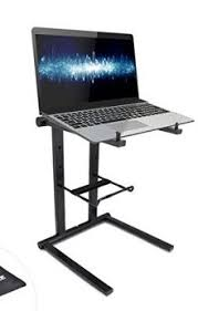 dj table for beginners pyle plpts35 portable folding tabletop dj gear stand for laptops