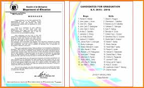 9 graduation program template science resume