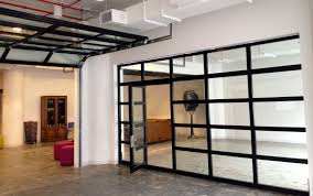 clear glass garage doors with passing door loversiq