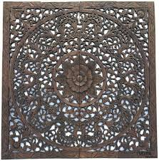 home decor wall plaques elegant wood carved wall plaque wood carved floral wall art asian