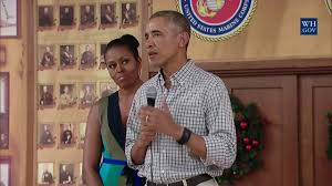 Obama Hawaii by Obama Surprises Troops In Hawaii On Christmas Day 2016 Full