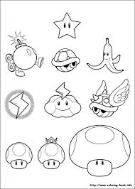 mario kart coloring pages kids az coloring pages