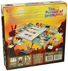 amazon com the pursuit of happiness board game toys u0026 games