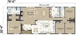 4 Bedroom Modular Home Floor Plans 44 Best Manufactured Home Floor Plan Images On Pinterest Home