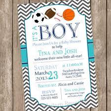 chevron all star it u0027s a boy baby shower invitation