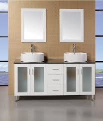 Double Vessel Sink Bathroom Vanities by Adorna 60