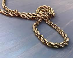 gold necklace vintage images Vintage 14k gold necklace etsy jpg