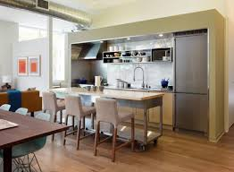 Kitchen Island On Casters What Kind Of Casters Are Used On The Movable Island To Keep