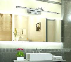 Above Mirror Vanity Lighting Bathroom Cabinets With Led Lights Vanities Bathroom Vanity